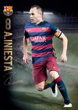 Barcelona Iniesta Action 15/16
