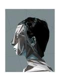 Abstract Woman I Reproduction d'art par Enrico Varrasso