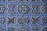 Friday Mosque  Isfahan  Iran  1475 Detail: Southern Iwan Ceramic Tile Mosaics