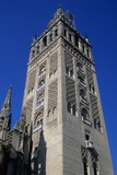 Giralda's Minaret  1184-98  Built by Almohad Caliphate Is Now the Bell Tower  Seville Cathedral