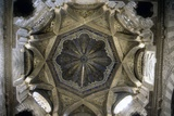 Interior Mihrab Dome at the Great Mosque  Cordoba  Spain  11th C