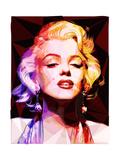Marylin Monroe Reproduction d'art par Enrico Varrasso