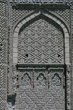 Brickwork Detail on Tomb Tower  1093  Kharraghan  Iran