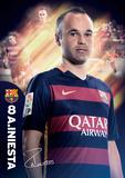 Barcelona Iniesta 15/16