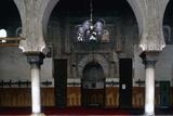 Bou Inaniyya Madrasa  1350-55  Fez  Morocco  Apse in Prayer Hall  and Horseshoe Arches