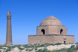 Arslan Jadhib Mausoleum and Minaret  11th-13th C Sangbast  Iran