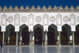 Al-Azhar Mosque  1129-1149  Cairo  Egypt  Fatimid Keel Arches of Main Courtyard