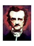 Poe, Edgar Allan Reproduction d'art par Enrico Varrasso