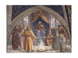 The Test of Fire  St Francis with the Sultan