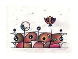 People and Flower Reproduction d'art par Enrico Varrasso