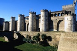 Fortified Aljaferia Palace  12th-15th Century  Zaragoza  Spain