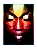 Dark Face Reproduction d'art par Enrico Varrasso