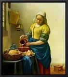 The Milkmaid  c1658-1660