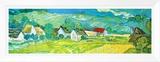 Sunny Meadow in Arles  c1890 (detail)
