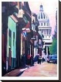Havana Cuba Street Scene
