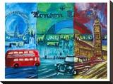 London Bus And Big Ben 2