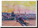 Cologne Deutz Bridge Sunset 2