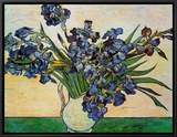 Vase of Irises  c1890
