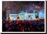German Reunification Festivities Berlin Reichstag