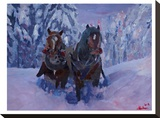 The Winter Sled Horses 2