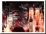 Munchen Silvester Feuerwerk