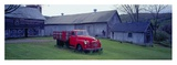 Red Vintage Pickup