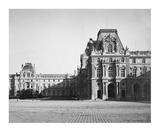 Paris  1859 - Mollien Pavilion  the Louvre