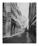 Paris  1865 - Rue des Bourdonnais de la rue de Rivoli