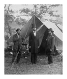 President Lincoln on the Battlefield of Antietam  Maryland  October 2  1862