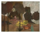 The Milliners Reproduction d'art par Edgar Degas