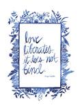 Love Quote I Reproduction d'art par Grace Popp