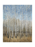 Dusty Blue Birches II