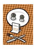 Deathly menu - Cartoon