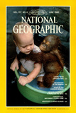 Cover of the June 1980 National Geographic Magazine