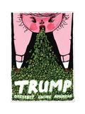 Donald Trump - Cartoon
