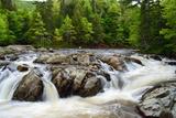 Little Falls on the North River  Cape Breton  Nova Scotia