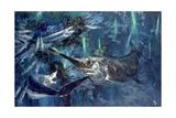 Broadbill  Mako  Lancet Fish  Sea Arrows: in the Glow of the Cyalumes  1988