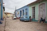 A Street Scene in Trinidad  Cuba
