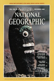 Cover of the December  1980 National Geographic Magazine