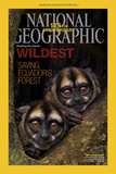 Cover of the January  2013 National Geographic Magazine