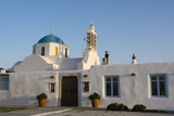 A Scenic View of a Private Church in Naousa