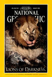 Cover of the August  1994 National Geographic Magazine