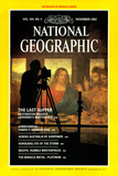 Cover of the November  1983 National Geographic Magazine