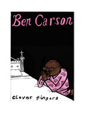 Ben Carson - Cartoon