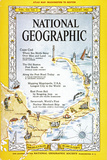 Cover of the August  1962 National Geographic Magazine