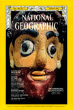 Cover of the August  1974 National Geographic Magazine