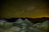 A Starry Sky over Twenty Mule Team Canyon