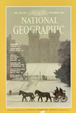 Cover of the November  1980 National Geographic Magazine