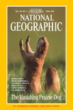 Cover of the April  1998 Issue of National Geographic Magazine