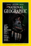 Cover of the March  1992 National Geographic Magazine